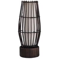 StyleCraft Home Collection L54887DS Eastwood 18 inch 25 watt Dark Brown Floor Lamp Portable Light