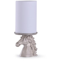 StyleCraft Home Collection L55264DS Prussia 11 inch 60 watt Off White Cream and White Uplight Portable Light