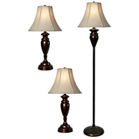 StyleCraft Home Collection L8-1003DS Signature 61 inch 100 watt Dark Bronze Table Lamp Portable Light