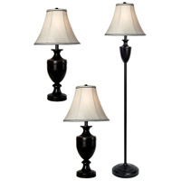 StyleCraft Home Collection L8-1004DS Signature 61 inch 150 watt Bronze Wood Table Lamp Portable Light