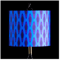 StyleCraft Home Collection MMSHR12SP504ADS Mixology Bright Multi-Colored Patterned Lamp Shade