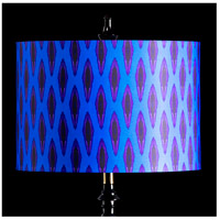 StyleCraft Home Collection MMSHR16SP504ADS Mixology Bright Multi-Colored Patterned Lamp Shade