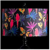 StyleCraft Home Collection MMSHR19SP498DS Mixology Bright Multi-Colored Patterned Lamp Shade