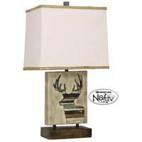 StyleCraft Home Collection MO24187DS Signature 24 inch 100 watt Arapahoe Table Lamp Portable Light