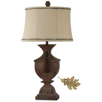 StyleCraft Home Collection MO311285DS Signature 37 inch 150 watt Cedar Falls Table Lamp Portable Light