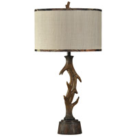 StyleCraft Home Collection MO38587CDS Signature 35 inch 150 watt Dark Brown Table Lamp Portable Light