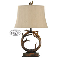 StyleCraft Home Collection MO38968DS Signature 3 inch 150 watt Dark Brown Table Lamp Portable Light
