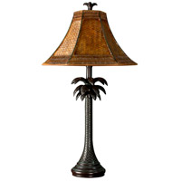 StyleCraft Home Collection PT2957DS Signature 26 inch 60 watt Dark Brown Table Lamp Portable Light