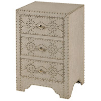 StyleCraft Home Collection SF2090DS Signature 28 X 18 inch Linen End Table