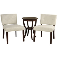 Signature Espresso and Ivory Chair