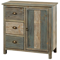 Signature Blue and Grey Cabinet
