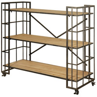 StyleCraft Home Collection SF24782DS Signature Dark Bronze Powder Coat Bookcase