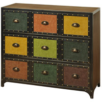 Signature Firwood Veneer and Multicolored Chest