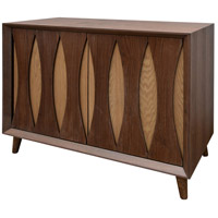 Signature Light Walnut Cabinet