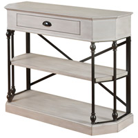 Signature 32 X 14 inch Antique White and Black Console