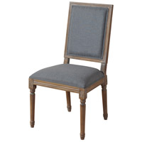 Signature Natural Pickled and Pale Blue Chair