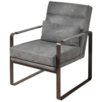Signature Bronze and Taupe Grey Chair