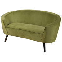 Signature Brown and Lime Green Chair