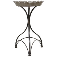 Cole 18 inch Black Side Table