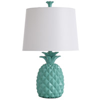 StyleCraft Home Collection TL25296BDS Signature 25 inch 60 watt Green Table Lamp Portable Light