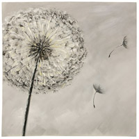 StyleCraft Home Collection WI33185DS Dandelion Wind Natural Wall Art