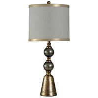 StyleCraft Home Collection L310191DS Signature 35 inch 150 watt Black and Gold Table Lamp Portable Light