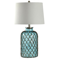 StyleCraft Home Collection L32078DS Signature 30 inch 150.00 watt Blue Table Lamp Portable Light