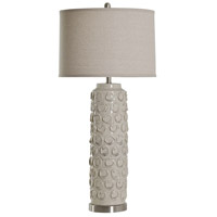StyleCraft Home Collection L37677DS Signature 38 inch 150 watt Bella Cream Table Lamp Portable Light