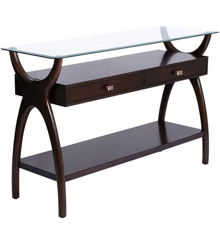 Stein World 16976 Hildegard 48 Inch Dark Cherry Stain Console Table
