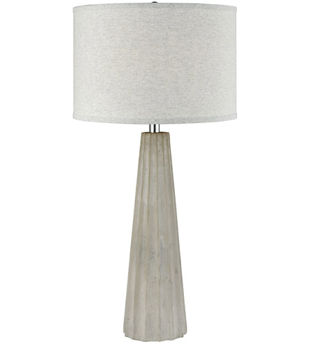 Grey Concrete Table Lamps