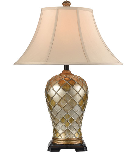 Stein World 77093 Qasar 28 inch 150 watt Antique Gold Table Lamp Portable Light photo