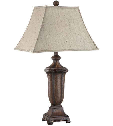 Stein World 99787 Maddox 30 inch 60 watt Dark Brown Table Lamp Portable Light photo thumbnail