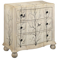 Winter Woods Wintry White Accent Chest