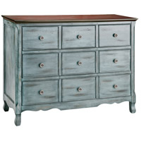Hartford Moonstone and Aged Blue with Woodtone Chest