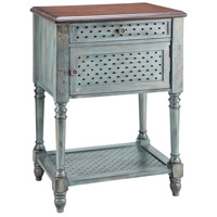 Hartford 22 X 16 inch Moonstone Blue Table Home Decor
