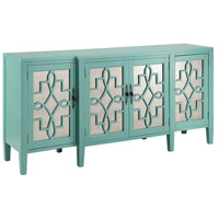Stein World 13151 Lawrence 72 X 19 inch Turquoise Sideboard