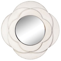 Stein World 13270 Tabitha 36 X 36 inch White Mirror Home Decor