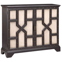 Stein World 13338 Tyrion Black and Antique White Cabinet