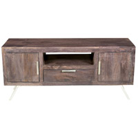 Hermaine 47 X 16 inch Ebony Media Console