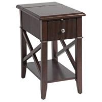 Stein World 13470 Baldwin 22 X 13 inch Rich Cordovan Chairsider Home Decor