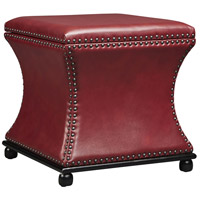 Stein World 13483 Seward 20 inch Red Storage Stool