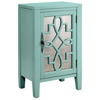 Stein World 13514 Leighton Turquoise and Antique Cabinet