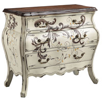 Stein World 13613 Busey Antique Pearl White/Hand-Painted Chest