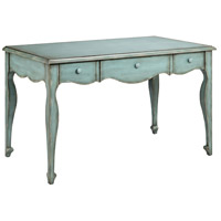 Babbette 48 X 28 inch Turquoise and Gray Desk