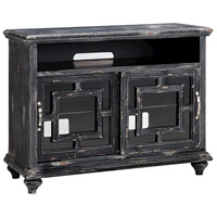 Barado 44 X 18 inch Black and Brown Entertainment Console Home Decor