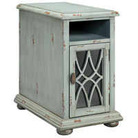 Stein World 16659 Bethania 22 X 14 inch Blue and Gray with Brown Chairsider Home Decor
