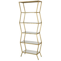 Attica 66 X 24 X 10 inch Brown Shelving Unit