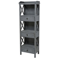 Chilmark 67 X 56 X 14 inch Brown Shelving Unit