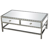 Stein World 16822 Riveting 43 X 24 inch Brown Coffee Table