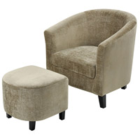 Elana Mink Velvet Chair